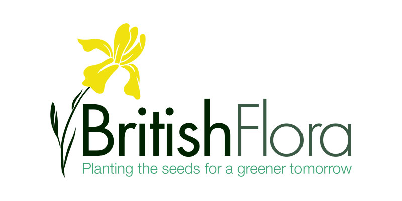 British Flora menu logo